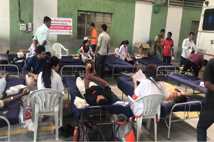 Blood Donation Camp at our Factory at Savli- 2019