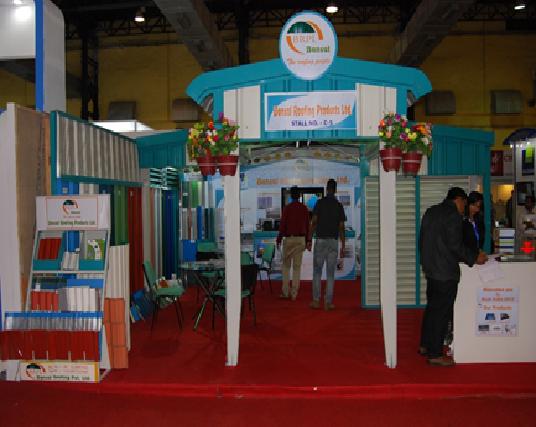 Roof India Exhibition 2015 at BEC, NEsco, Mumbai