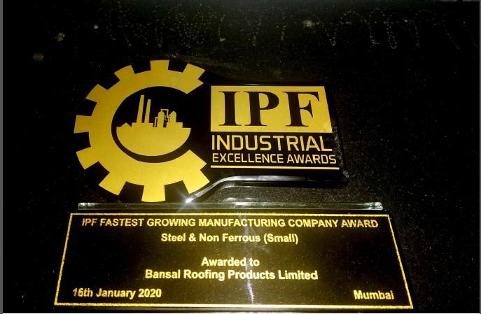 IPF Awarded